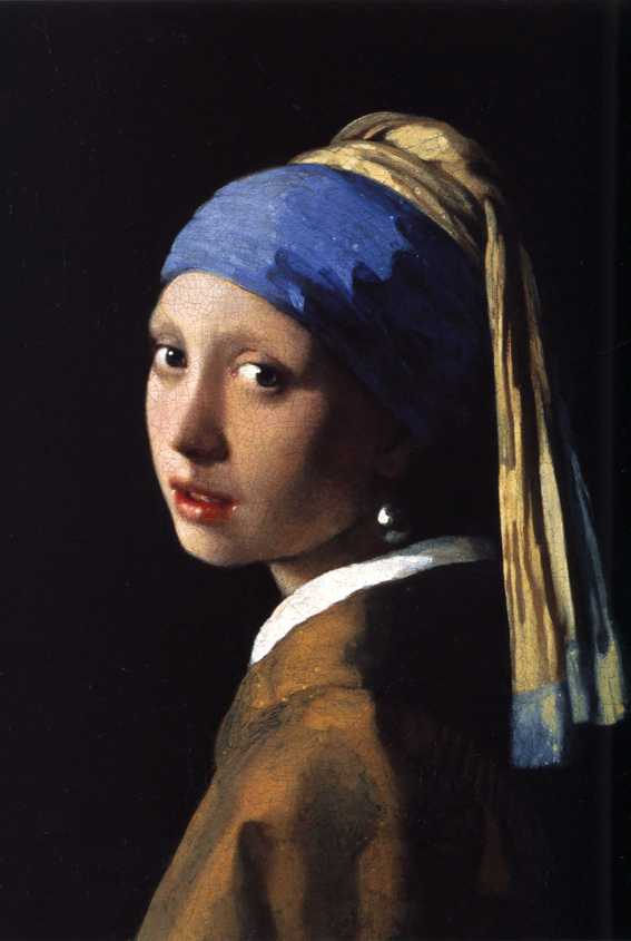 World famous oil painting Vermeer oil painting of maiden hotel with Pearl Earrings