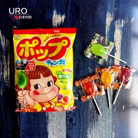 日本不二家棒棒糖水果味 护齿儿童零食 宝宝糖果 防蛀牙21支袋装