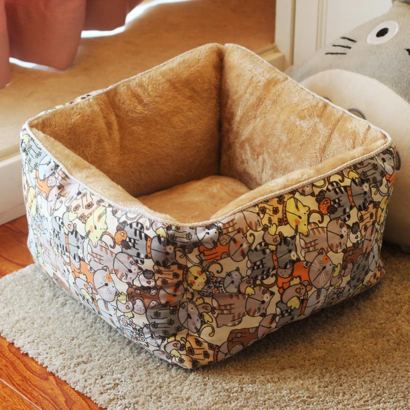猫窝可拆洗四季通用冬季保暖英短美短网红猫窝深度睡眠猫床垫夏季11月20日最新优惠