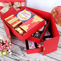 创意中式喜糖喜饼礼盒成品喜事结婚提亲喜庆中国风复古回礼伴手礼