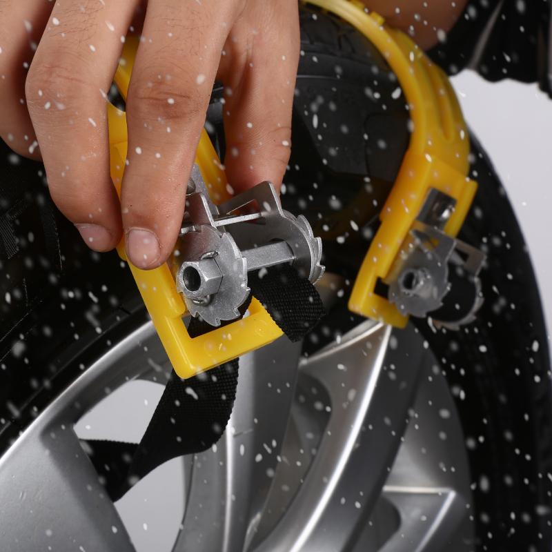通用型汽车轮胎防滑链小轿车越野车面包suv应急雪地链条橡胶牛筋