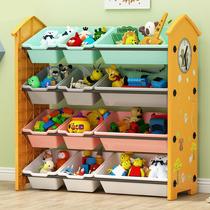 儿童玩具收纳架整理架多层置物架收纳箱幼儿园宝宝玩具架收纳柜