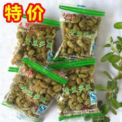 天隆青豆笋丝休闲食品笋干笋条青豆五香味临安特产零食500G小包装