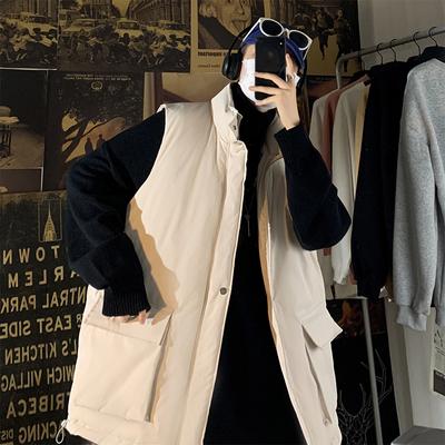 冬季新款立领马甲宽松棉衣青年棉服外套A150-MY2027-P70控价88