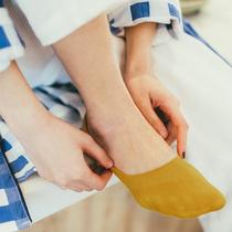 袜子男士纯棉短袜船袜男秋季短筒防臭冬季吸汗低帮隐形浅口男袜潮