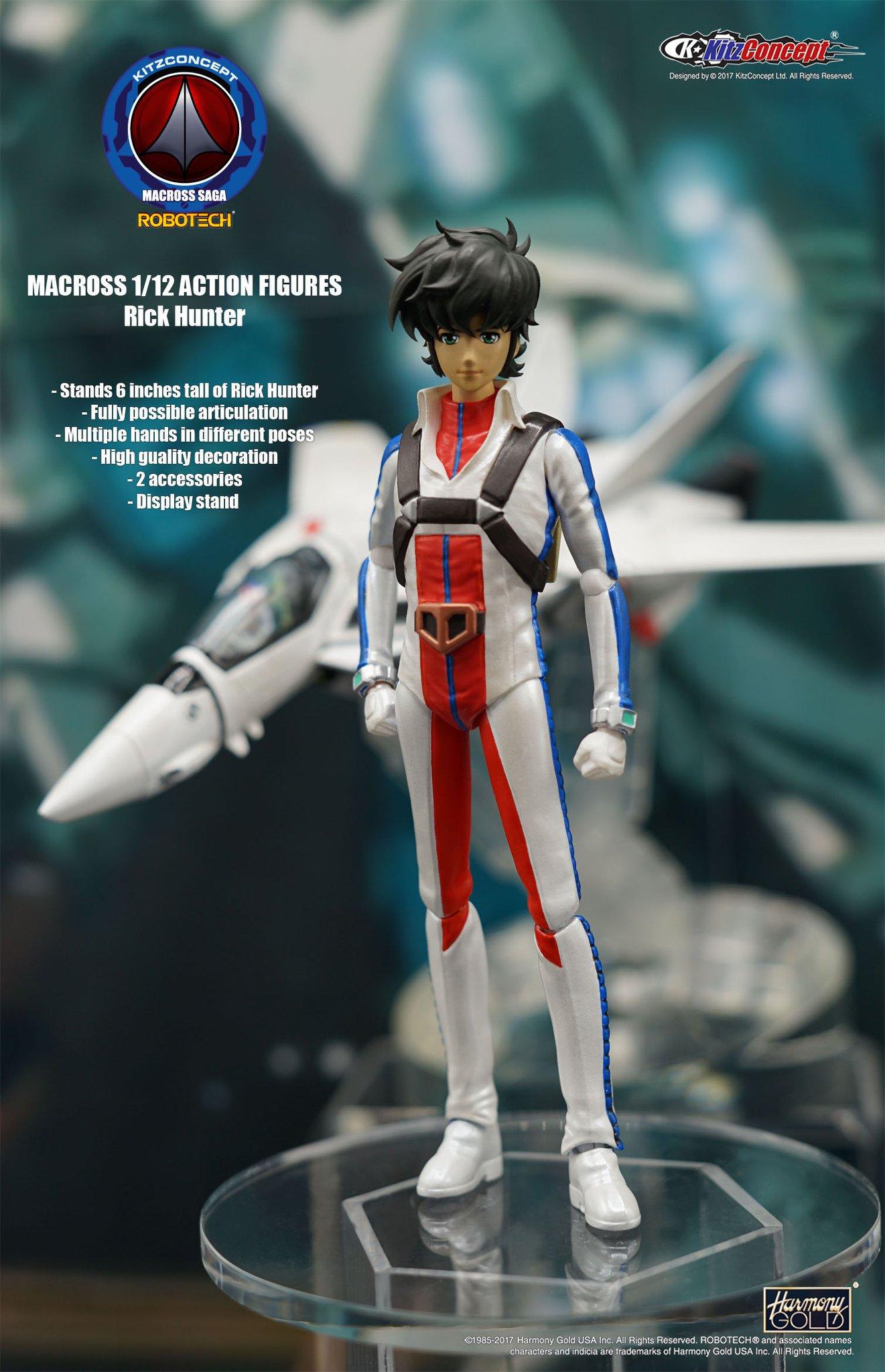 【 на предпродаже 】Battlestar Robotech KitzConcept 1/12 Рик Картер может быть перемещен