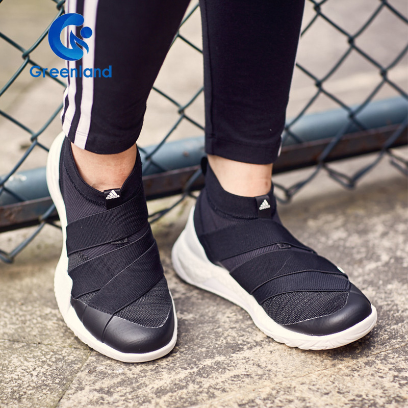 阿迪达斯 PUREBOOST X TRAINER 3.0女子袜套绑带运动训练鞋CG3524