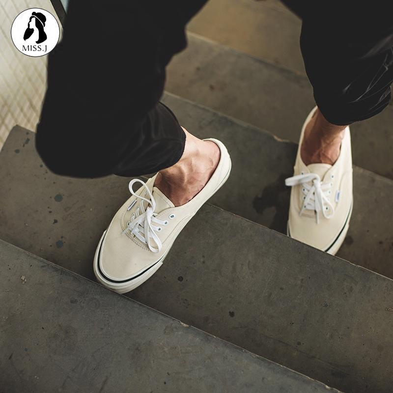 券后488.00元【金小姐】vans正品安纳海姆帆布鞋