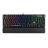 宁美国度GK32 v2机械键盘鼠标套装电竞游戏专用宏编程黄轴RGB光效带手托打字办公网吧台式笔记本电脑有线