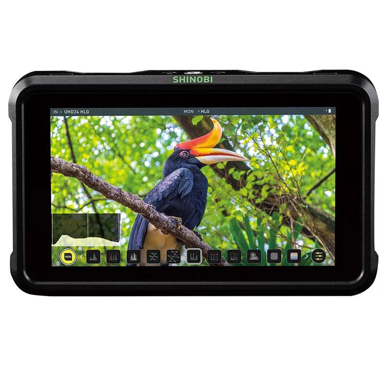 ATOMOS阿童木隐刃Shinobi5英寸史努比系列高清监视器4K HDIM单反