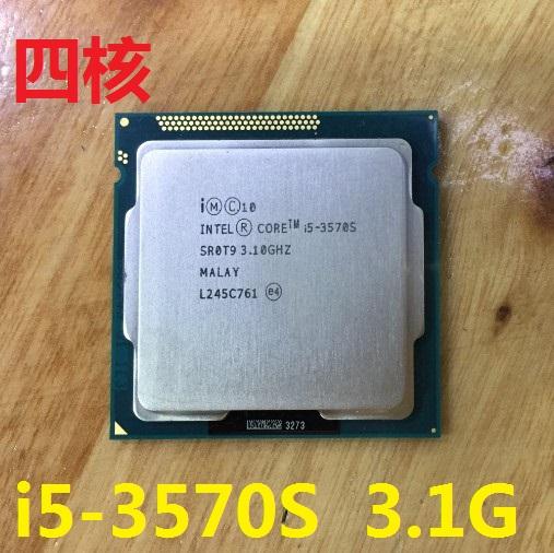 Intel/英特�� i5-3570S 3.1G 四核 1155 CPU 另售i7-2600 i7-3770