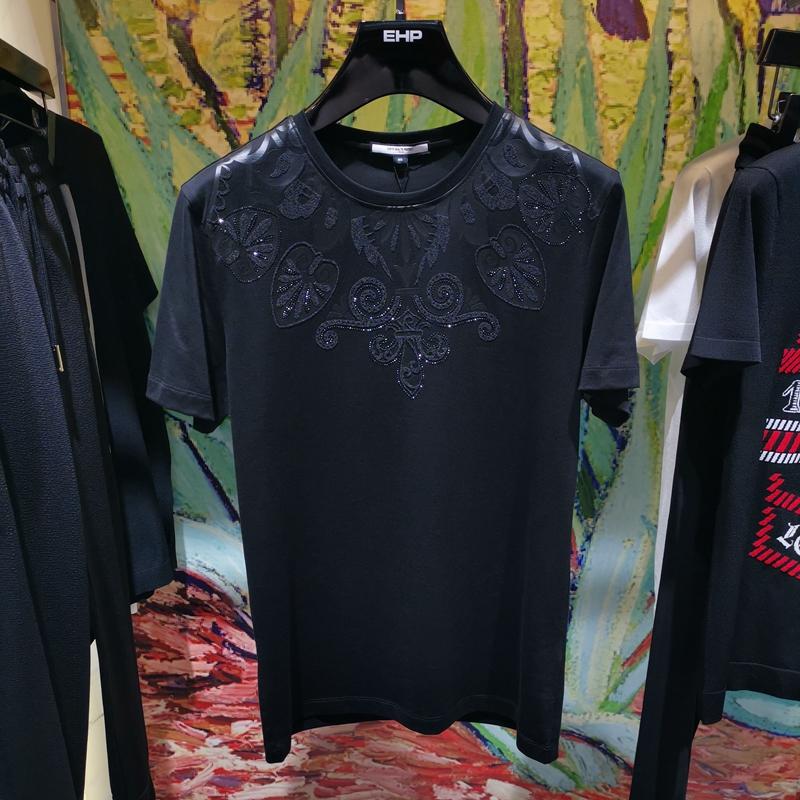 19新款EHP专柜正品夏季男装休闲短袖纯棉T恤 516904062090