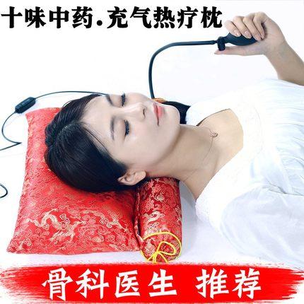 荞麦决明子颈椎枕头修复专用糖果圆柱形硬枕头枕芯颈椎护颈枕成人