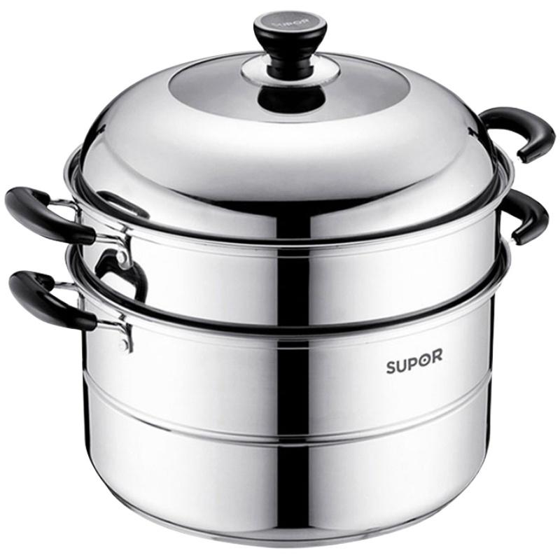 苏泊尔304不锈钢家用大容量蒸锅质量可靠吗