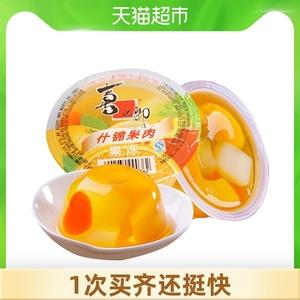 喜之郎什锦果肉果冻布丁200g零食品喜糖糖果网红休闲200g×1杯