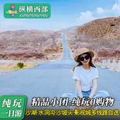 宁夏旅游银川一日游 沙湖/影视城/沙坡头/水洞沟/西夏陵纯玩团