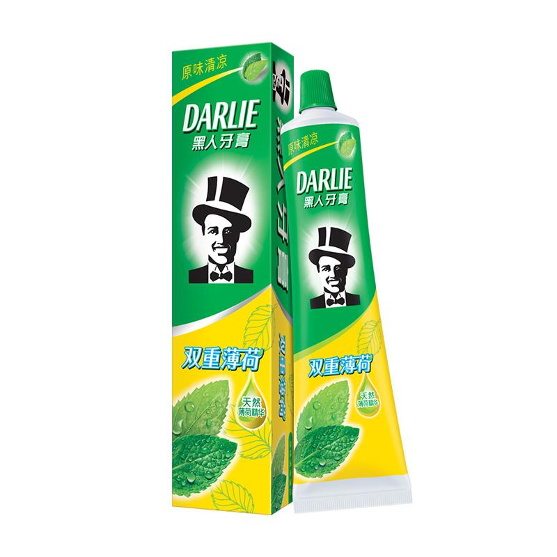 黑人牙膏双重50g清新口气防蛀包装质量好不好