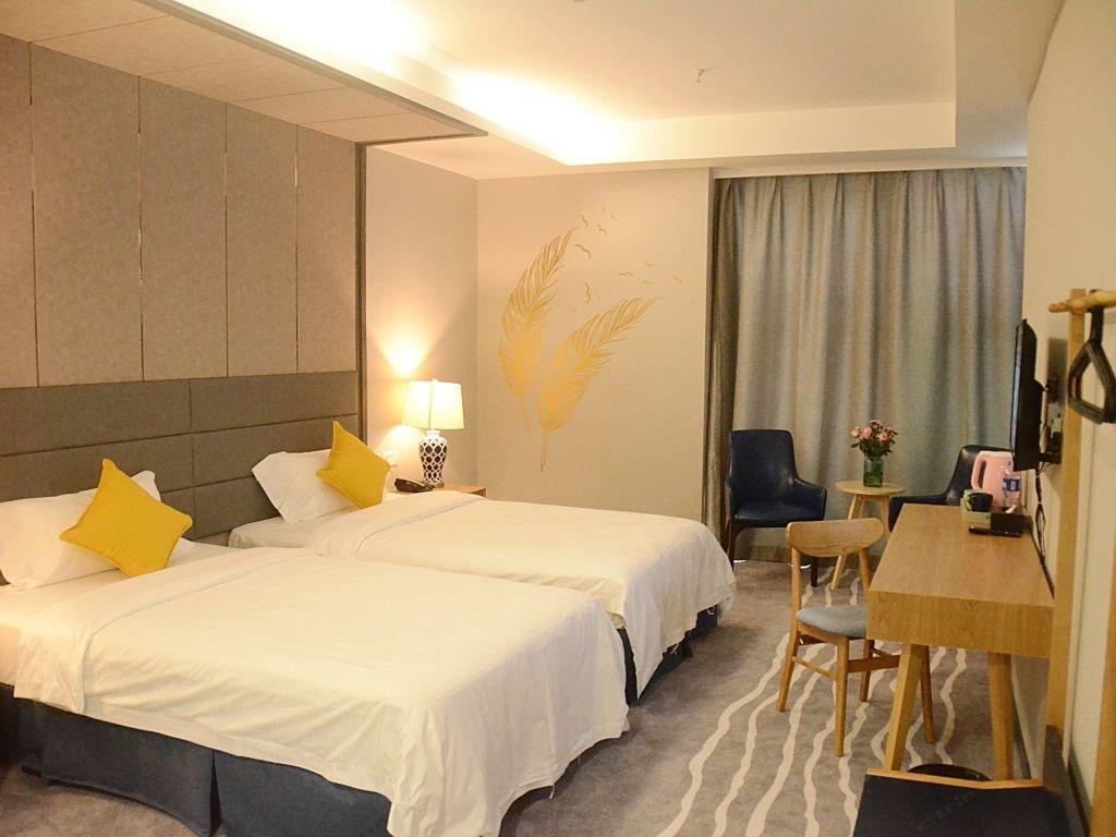 ブログ精品ホテル(深圳蛇口店)ビジネスツインルーム(窓なし)