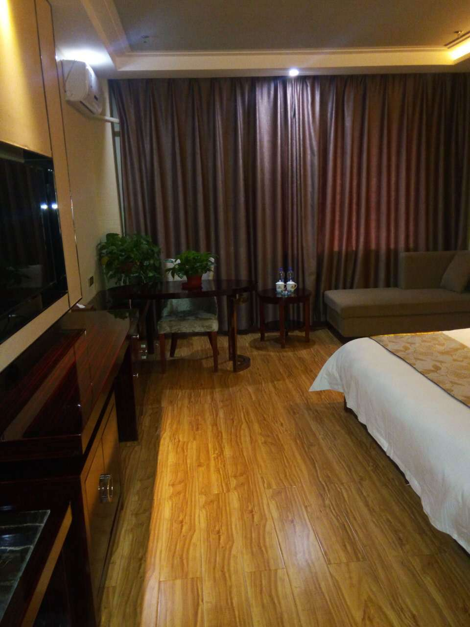 Business single room of Jintian hotel in Dingxi
