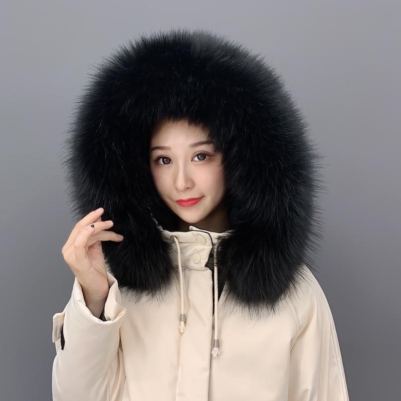 秋冬韩版纯色仿皮草毛领子加大男女通用毛毛领百搭仿貉子围巾假领