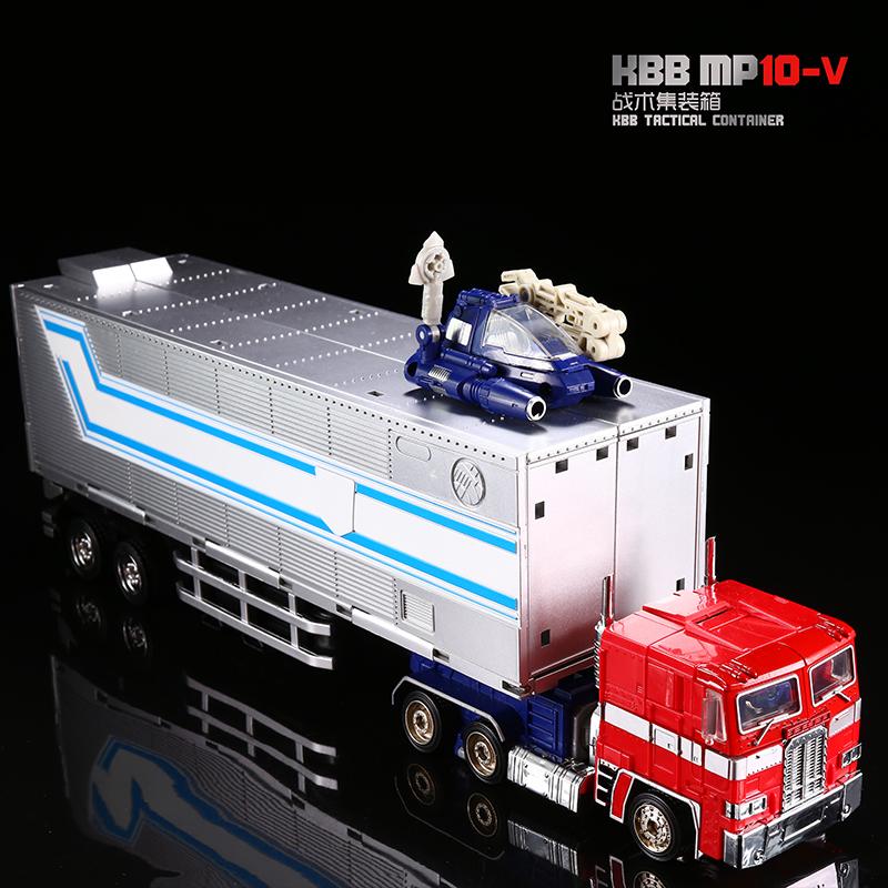 酷变宝变形玩具金刚5 MP10V车厢擎天领袖级汽车机器人模型现货