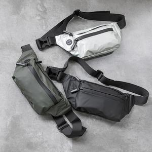 防水腰包男士个性胸包休闲户外运动斜挎包时尚韩版潮流死飞骑行包