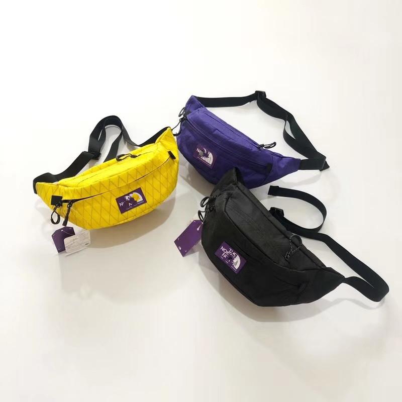 (用1元券)日本 T家 北紫标X -PAC- WAIST BAG防水腰包胸包斜挎包饺子包男女