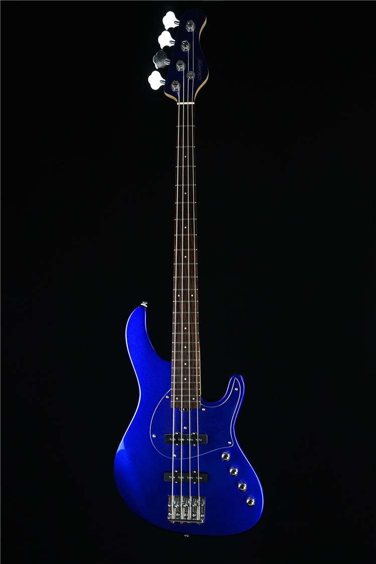Месяц Музей молнии 丨 Moonrise STD EC204 Unity 260J Четырехструнный электрический бас-бас