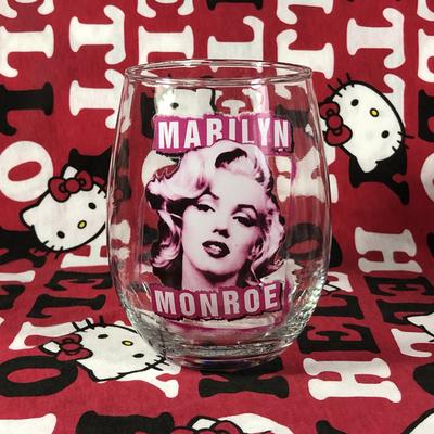 美国个性创意潮流女神性感玛丽莲梦露Marilyn Monroe玻璃红酒杯子