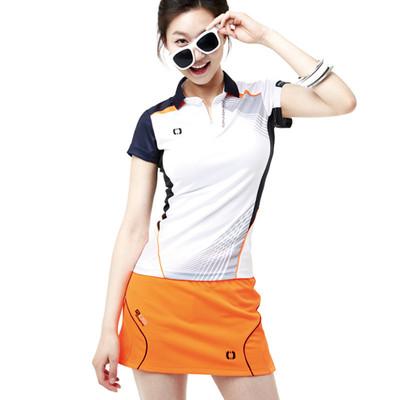 特价 韩国羽毛球服装女裤裙 运动短裙+连安全裤快干