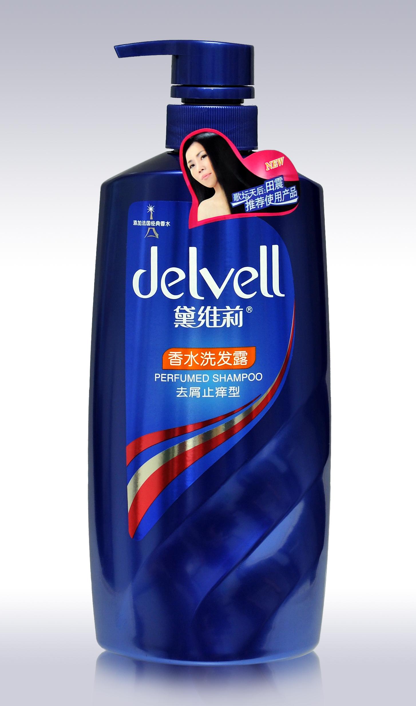 正品黛维莉750ml香水去屑洗发水 止痒 控油 新包装