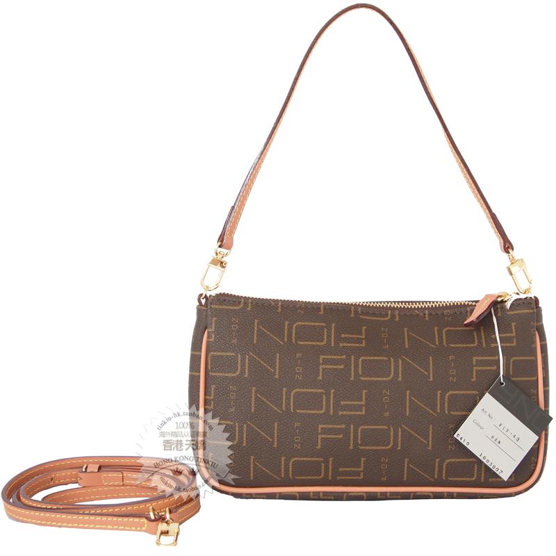 Crown Hong Kong Ping Fion Las Hand Shoulder Messenger Bag Handbag Fif 43