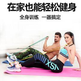 8字拉力绳八字扩胸塑胸器带弹力绳瑜伽橡皮筋乳拉力器图片