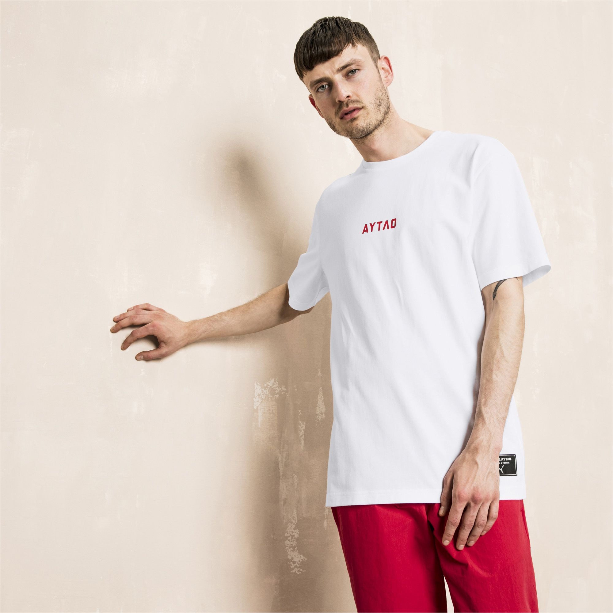 代�彪�R�\��t恤 PUMA x OUTLAW MOSCOW �名款短袖男T恤