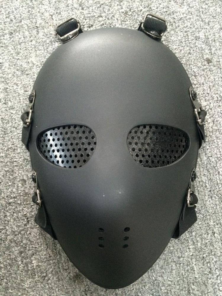 户外野战CS战术防护全脸面具 主题舞会恐怖杀手面具 网眼防护面罩