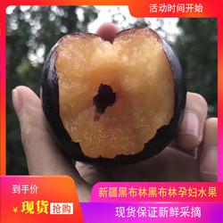 新疆现摘黑布林李子黑布朗顺丰包邮当季新鲜水果非四川陕西红心李