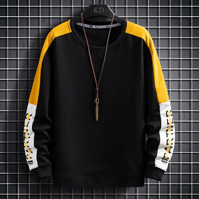 综合链接 男士长袖t恤青少年打底潮流学生小衫卫衣春款TY552-P40