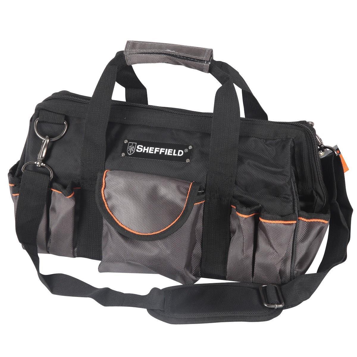 包邮大中小号多功能工具包空调家电维修单肩加厚电工收纳袋