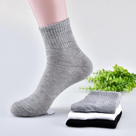 30双袜子男棉袜中筒袜旅行旅游一次性袜子学生运动袜足浴袜子批�l