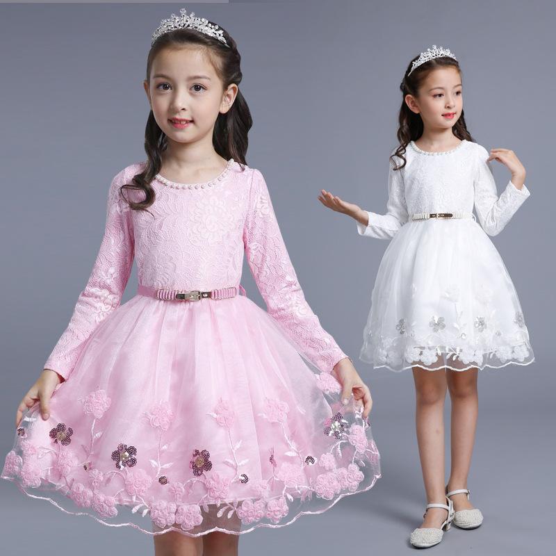 3 to 4 to girls 6 autumn winter 7 little girl princess dress children 10 long sleeve Plush FAIRY DRESS 11 years old 12