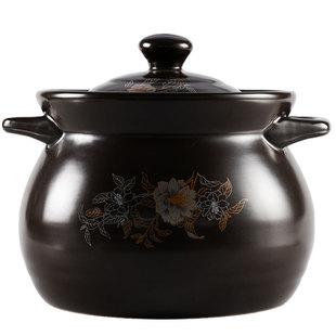 家用陶瓷锅瓦煲汤煤气灶熬小号罐