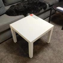 西安宜家IKEA拉克边桌子床头桌小茶几四方形桌咖啡桌儿童积木桌