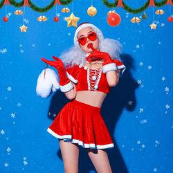 舞依芭圣诞节酒吧ds演出服新款性感女dj夜店gogo领舞服b组互动