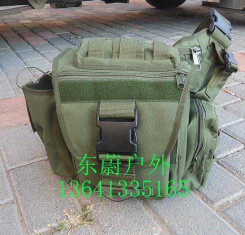 美式鞍袋/ 斜肩包(绿色)