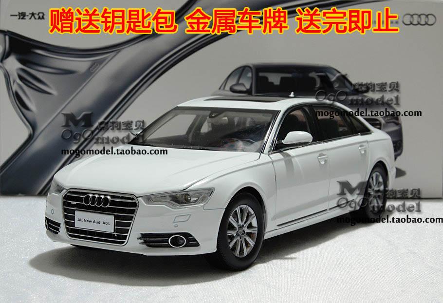 特价原厂 一汽大众 奥迪 新A6L AUDI 2012新款 1:18 合金汽车模型