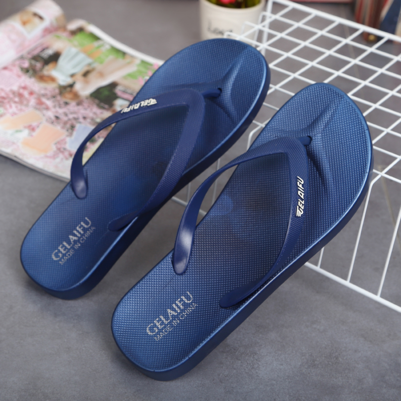 Slippers black white broken size comfortable special flip flop slow shock absorption lovers outdoor treatment Sports