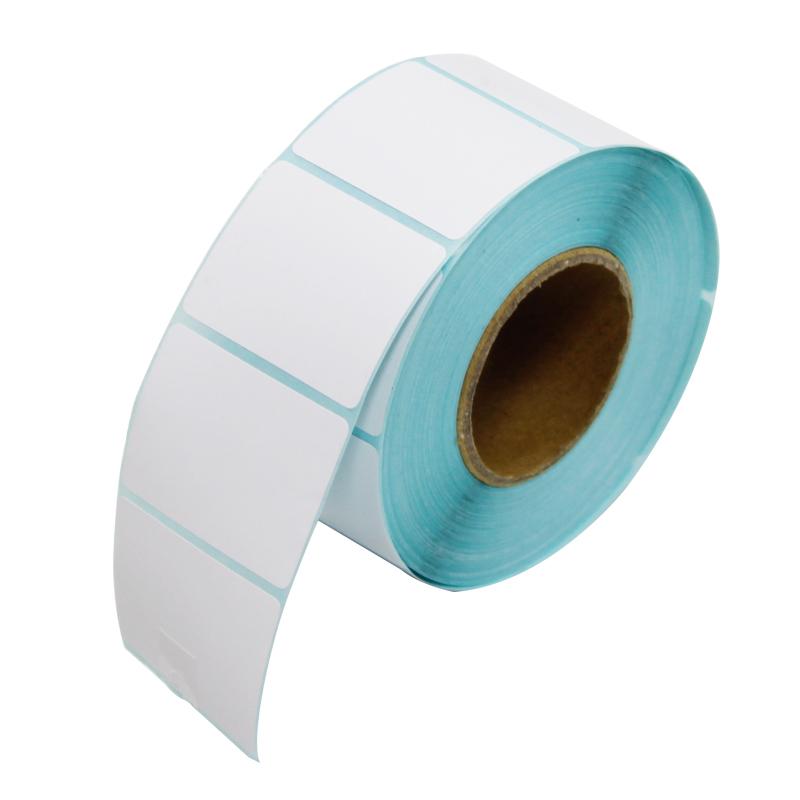 二維火 40^~30mm標簽紙 800張 卷 熱敏不幹膠打印紙條碼紙 5卷 筒