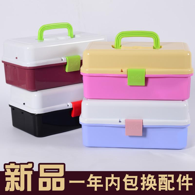 Большой размер три слой инструментарий прекрасный техника инструментарий гуашь живопись живопись живопись традиционная китайская живопись гвоздь пластик прозрачный студент живопись коробка