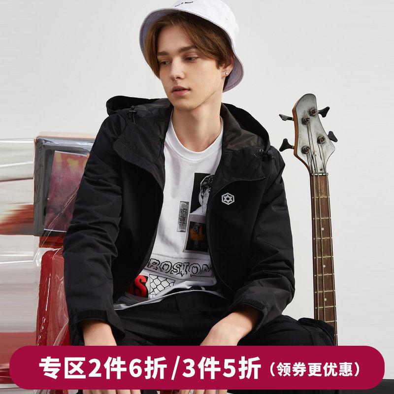 【多件多折】男装棒球服连帽夹克学生衣服休闲韩版外套潮