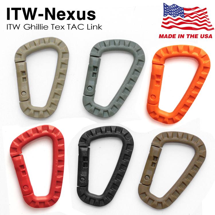美国制造进口ITW TAC轻量化户外战术登山装备快挂扣挂环D扣水壶扣